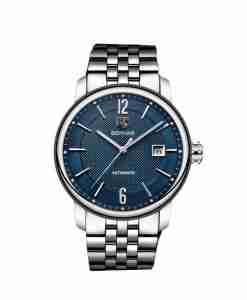 benyar-by-5144-silver-blue-automatic-chain