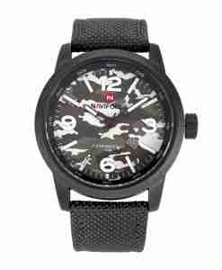 NF9080 NaviForce Grey Color Army Camouflage Watch