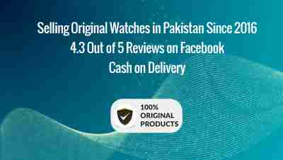 WatchCentre.PK selling original watches in Pakistan since 2016