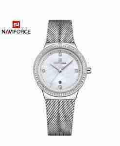 naviforce-nf-5005-silver-mesh-chain