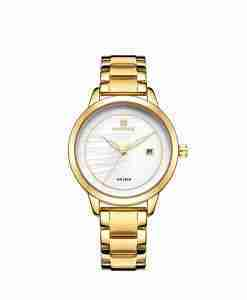 Naviforce-nf-5008-female-golden-watch