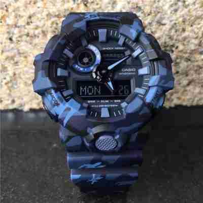Casio G-Shock GA-700CM-2ADR Blue Army