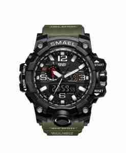 smael-army-green-watch
