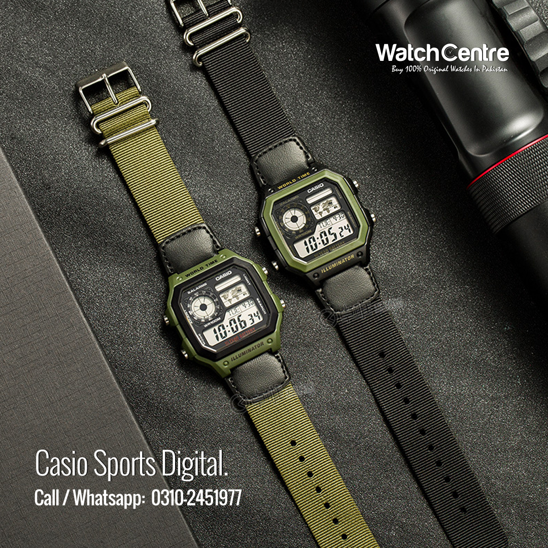 Casio AE-1200 James Bond Style Watch