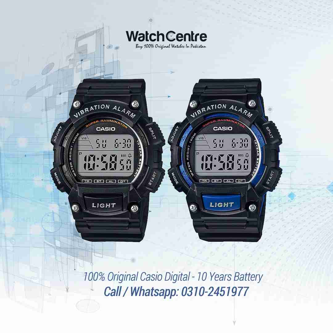 Casio W-736 Digital Sports Outdoor Watch