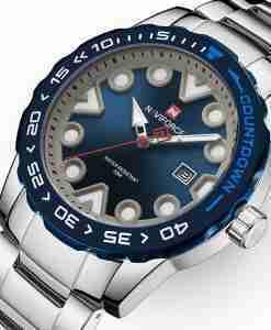 NaviForce 9178 Blue Dial Analog Men's Gift Watch