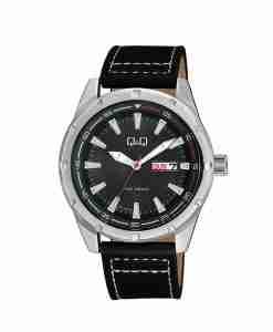 q&q-a214j302y-black-leather