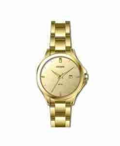 citizen-hz0002-51p-ladies-golden-analog-watch