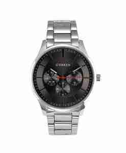 Curren 8282 grey dial budget executive wrist watch