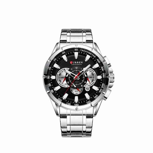 Curren 8363 Black Dial Men's Chronograph Gift Watch