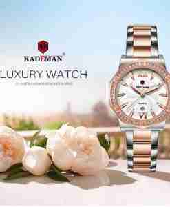Kademan 829 two tone ladies gift watch