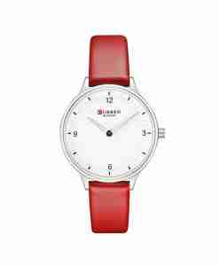 curren-9039-red-leather-white-dial