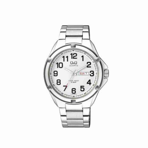 qq-a192j204y-white-dial-silver
