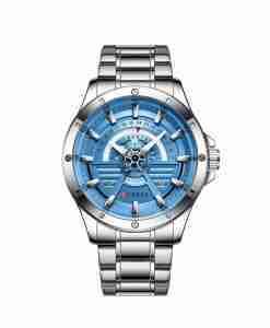 curren-8381-silver-blue