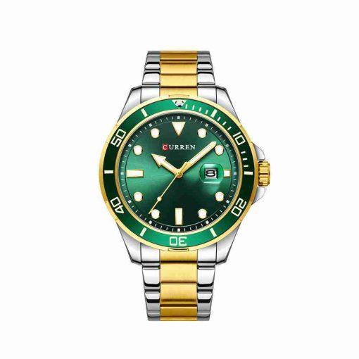 curren-8388-tt-green-dial