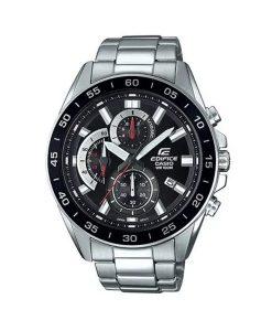 Casio Edifice EFV-550D-1AVUDF men's black dial chronograph wrist watch